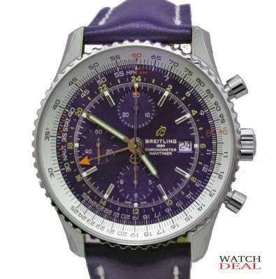 9bbe1da69 Breitling Navitimer 1 Chronograph GMT 46 A24322121C1X2 - Watchdeal KG