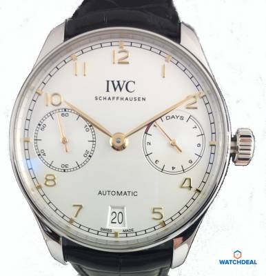 IWC Portugieser Automatic Stahl 42,3mm IW500704