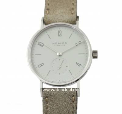Nomos Glashütte Tangente 33 Grey Manuel Winding Steel Back 125 Shop directly from the dealer ✓ Plattform independent ✓ Commission-free ✓ Watchdeal is the specialist for luxury watches to reasonable prices for over 30 years ✓