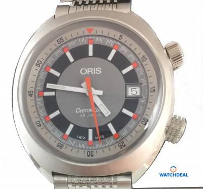 8d1e839bd Oris Chronoris Date Steel 39mm 01 733 7737 4053-07 8 19 01 ✓ Luxury
