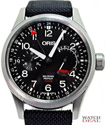 Oris Big Crown ProPilot Calibre 114 44mm 01 114 7746 4164-Set 5 22 15FC