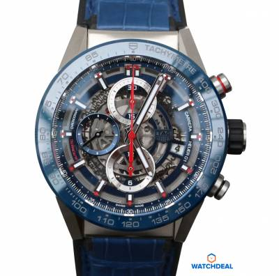 Tag Heuer Caliber Heuer 01 Automatic Chronograph CAR201T.FC6406