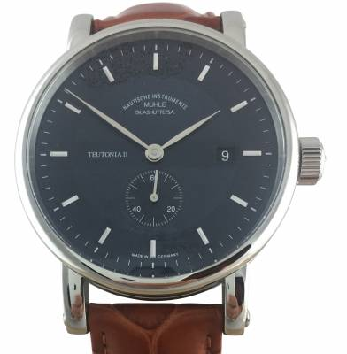 Muhle Glashutte Teutonia Ii Small Second M1 33 42 Lb Watchdeal Kg