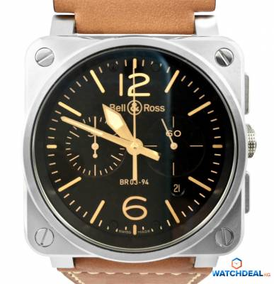 Bell & Ross BR 03-94 Chronographe Golden Heritage