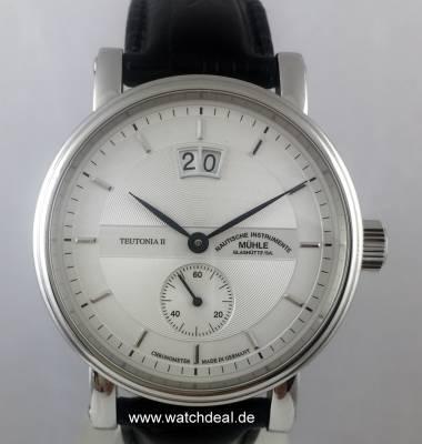 Muhle Glashutte Teutonia Ii Grossdatum Chronometer M1 33 75 Lb