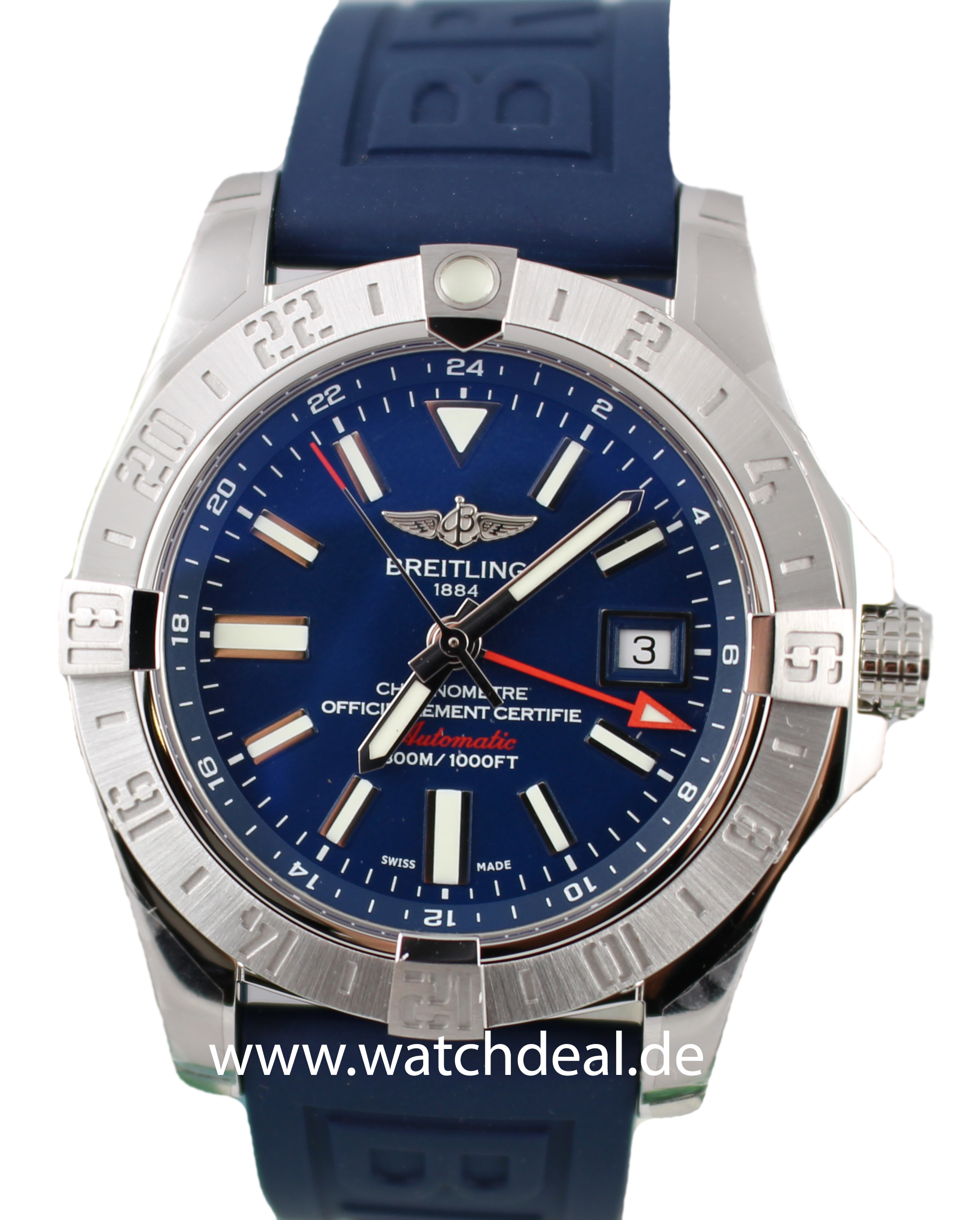 hot sale online db305 3e966 Breitling Avenger II GMT A3239011/C872/158S/A20S.1 ...