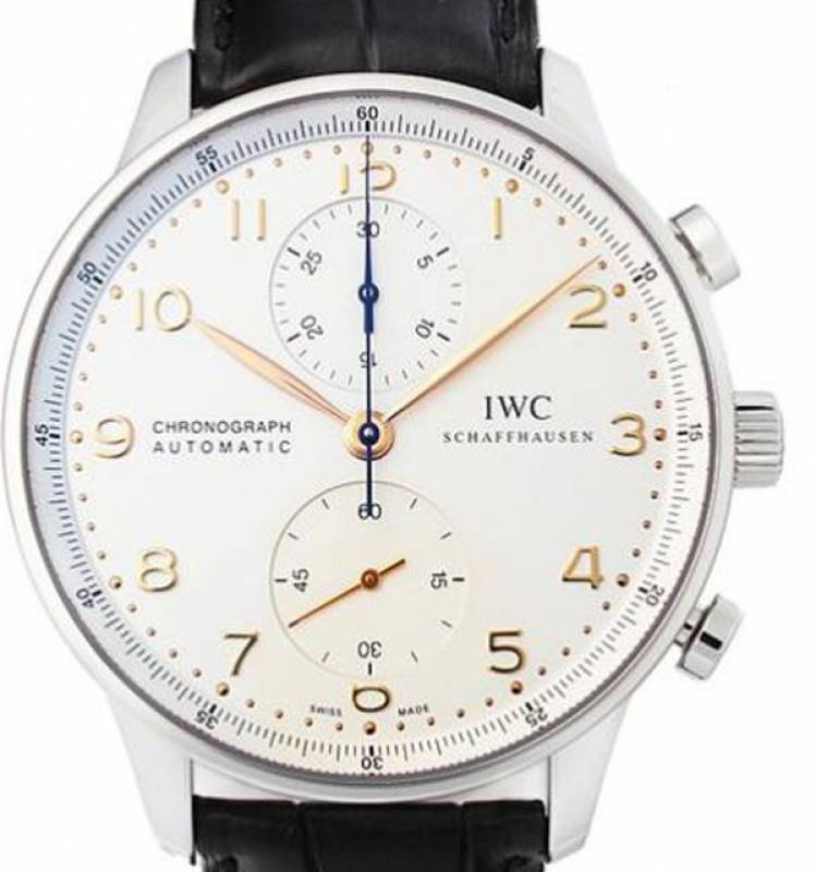 iwc portugieser chronograph iw371445 watchdeal kg. Black Bedroom Furniture Sets. Home Design Ideas