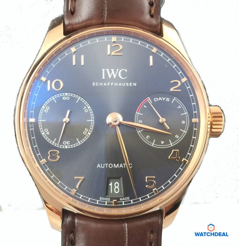 IWC Portugieser Automatic Rosegold 42,3mm IW500702