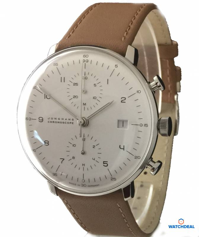 Junghans Max Bill Chronoscope 40mm 027/4502.00