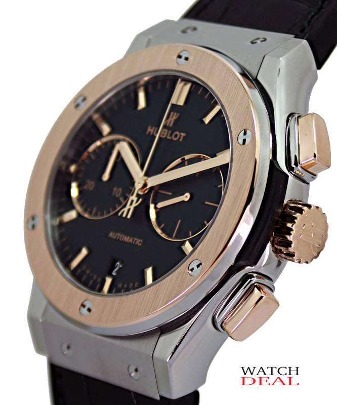 521.NO.1181.LR - Hublot Classic Fusion Chronograph Titanium King Gold 45mm