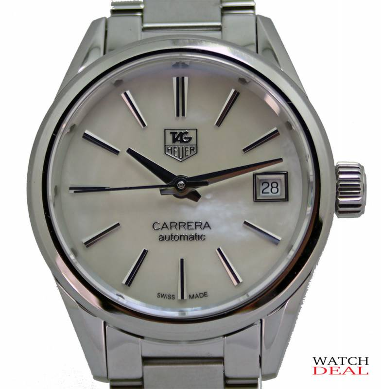 TAG Heuer Carrera Calibre 9 Ladies Steel 28mm WAR2411.BA0776