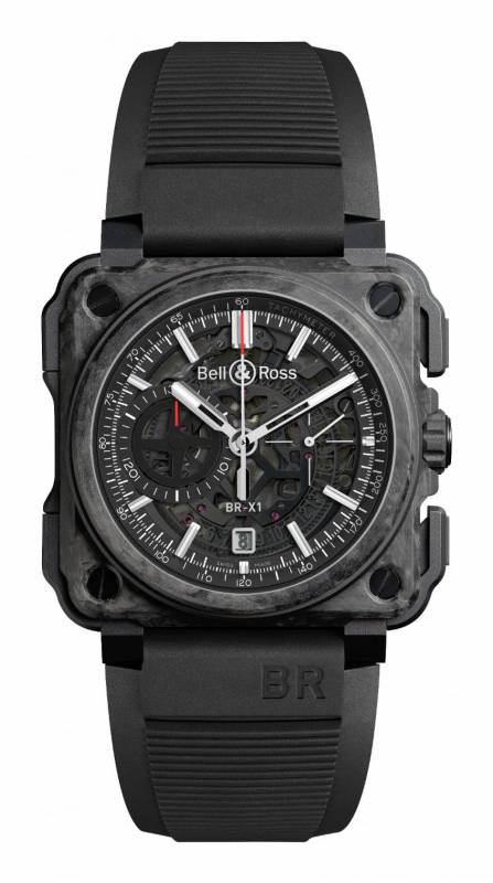 Bell & Ross Aviation BRX1 Carbon Forge Limited Edition BRX1-CE-CF-BLACK