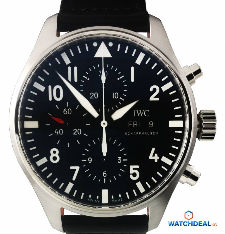 IWC Pilot´s Watch Chronograph Stahl 43mm IW377709